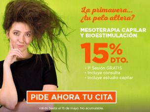 Mesoterapia y Bioestimulación 15% descuento. 1ª sesión gratis