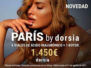 ¡Nuevo! Paris by Dorsia desde 1.450€