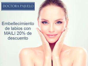 Embellecimiento de labios con Maili 20% de descuento