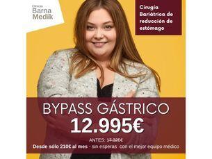 Bypass Gástrico por 12.995€