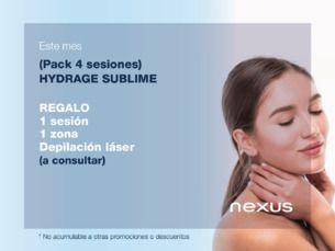 Hydrage Sublime, la limpieza facial más profunda que hidrata y nutre la pie