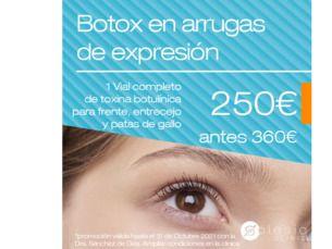 Tratamiento completo de toxina botulínica por 250€