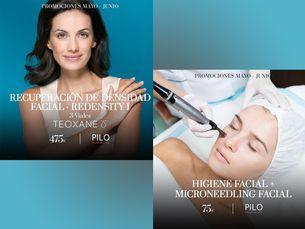 Higiene facial y Recuperación de densidad facial