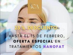 25% de descuento en tratamientos Nanofat