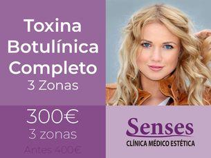 Toxina Botulínica Completo 3 Zonas