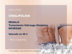 Con tu pack de criolipólisis prueba lo último en facial: Hidroage dinàmic