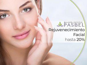 Rejuvenecimiento facial hasta al 20%