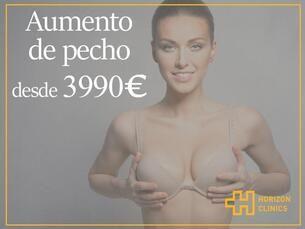 Aumento de pecho desde 3990€