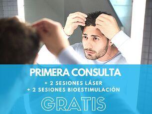 Consulta + 2 sesiones láser + 2 sesiones Bioestimulación GRATIS