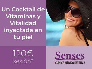 Un Cocktail de Vitaminas y Vitalidad inyectada en tu piel