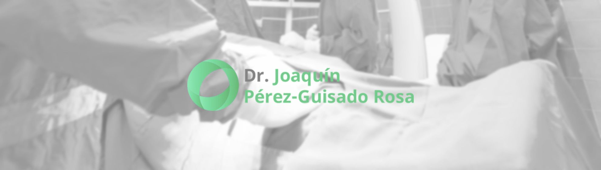 Dr. Joaquín Pérez Guisado Rosa