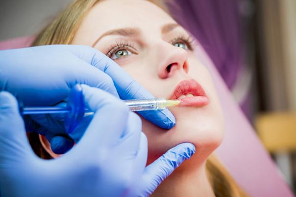 preparación relleno facial