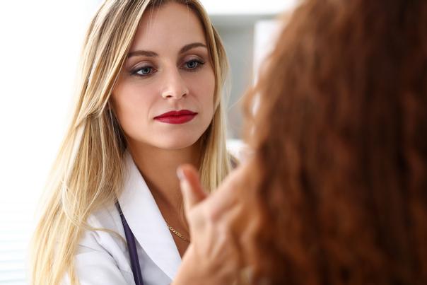 Consulta con una doctora