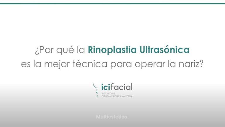 Rinoplastia ultrasónica: la mejor técnica para operar la nariz. Dr. Macía, Icifacial