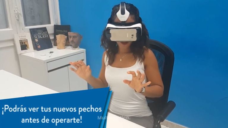 Operación de senos | Prueba cómo quedarían tus pechos con el Simulador 3D