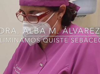 Eliminación  quiste sebáceo - ClinicaAlbayC
