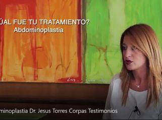 Abdominoplastia - Dr. Jesus Torres Corpas - Testimonios
