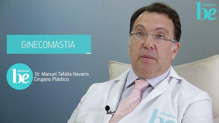 Operación  de Ginecomastia masculina. Cirugía estética en Clínicas Be
