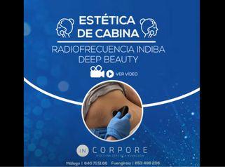 Radiofrecuencia INDIBA Deep Beauty