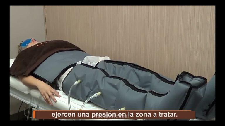 Activar el sistema circulatorio y linfático con presoterapia