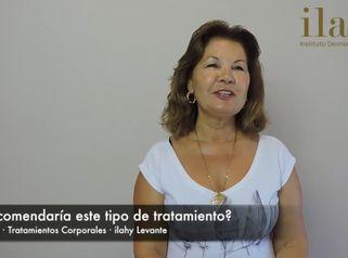 Tratamientos corporales en ilahy Benidorm - Testimonio de Teresa