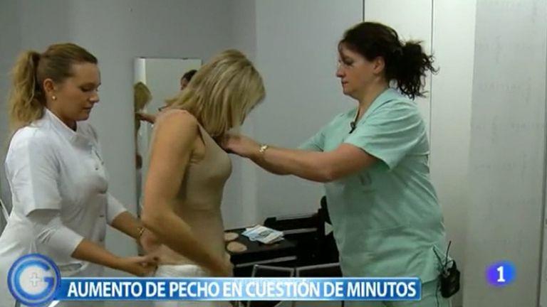 Cirugía aumento de pecho, Simulador pectoral
