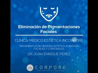Tratamiento de eliminación de Pigmentaciones Faciales
