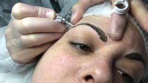 cómo se realiza la micropigmentación