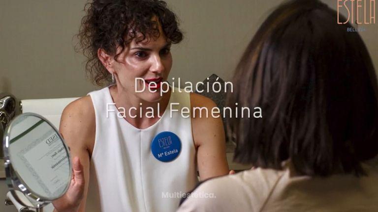 Depilación facial femenina - Estela Belleza