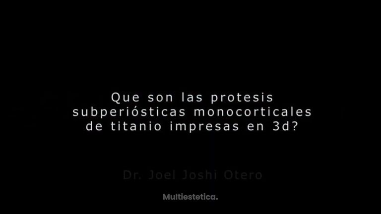 Aumento de mentón - Dr. Joshi Otero