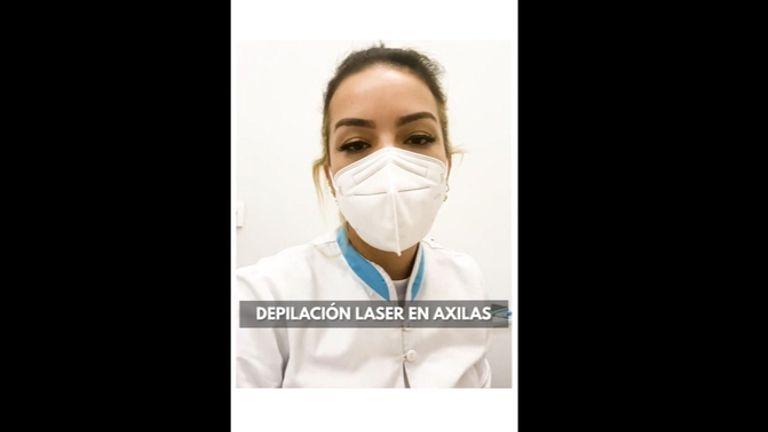 Depilación láser Axilas - Imebelle