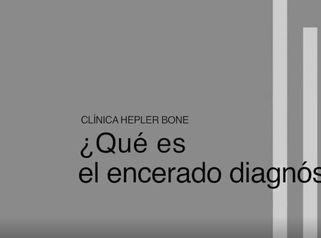 ¿Qué es el encerado diagnóstico?