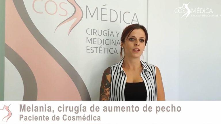 Melania habla sobre su aumento de pecho